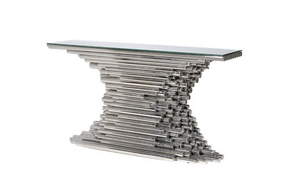 Terano Tubes Console Table