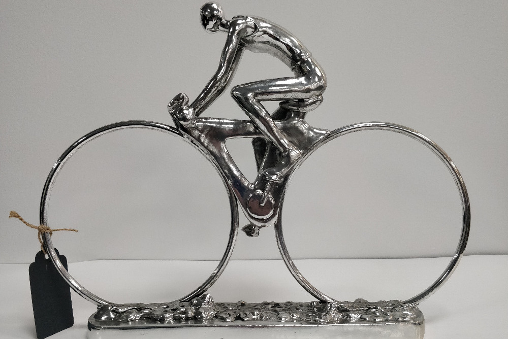 Inspired Floors accessories - Chrome Cyclist