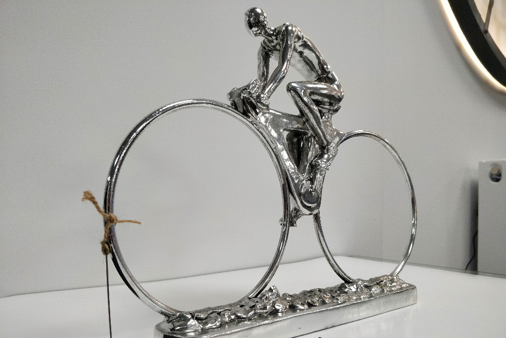 Chrome Cyclist