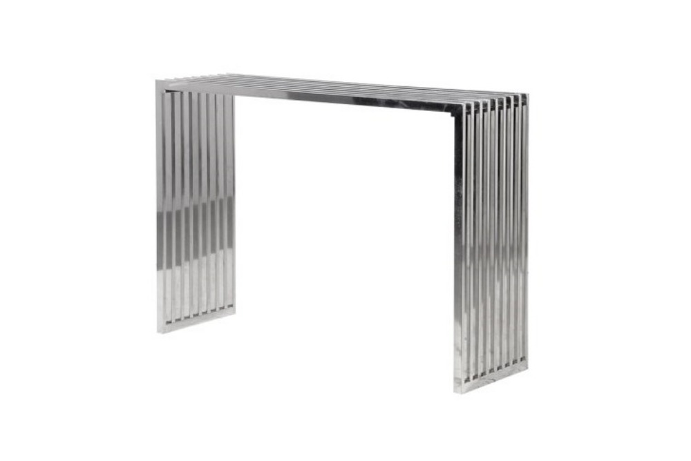 Terano Slatted Console Table