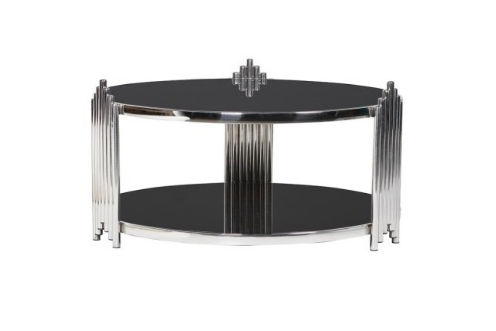 Low Round Deco Coffee Table