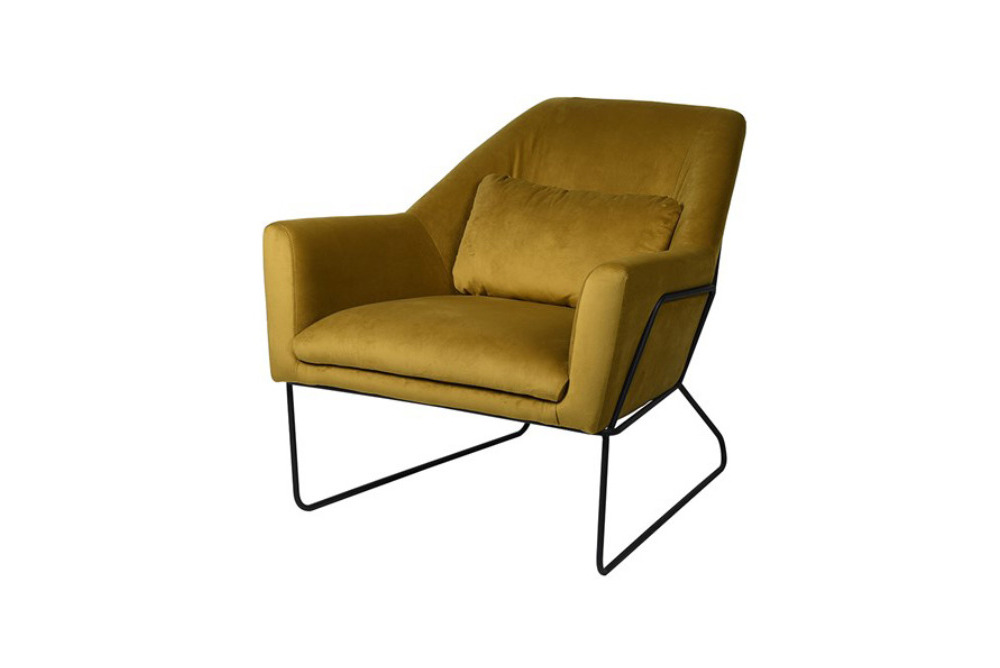 Amber Green Occasional Chair