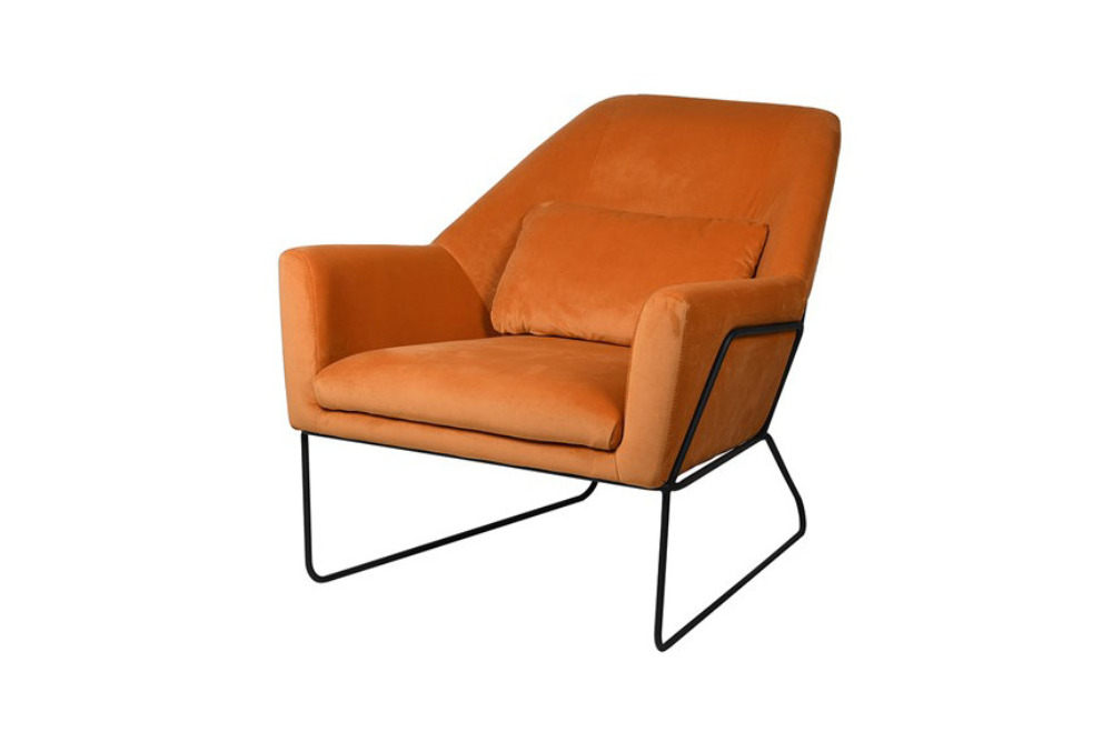 Viola Pumpkin Occasional Chair