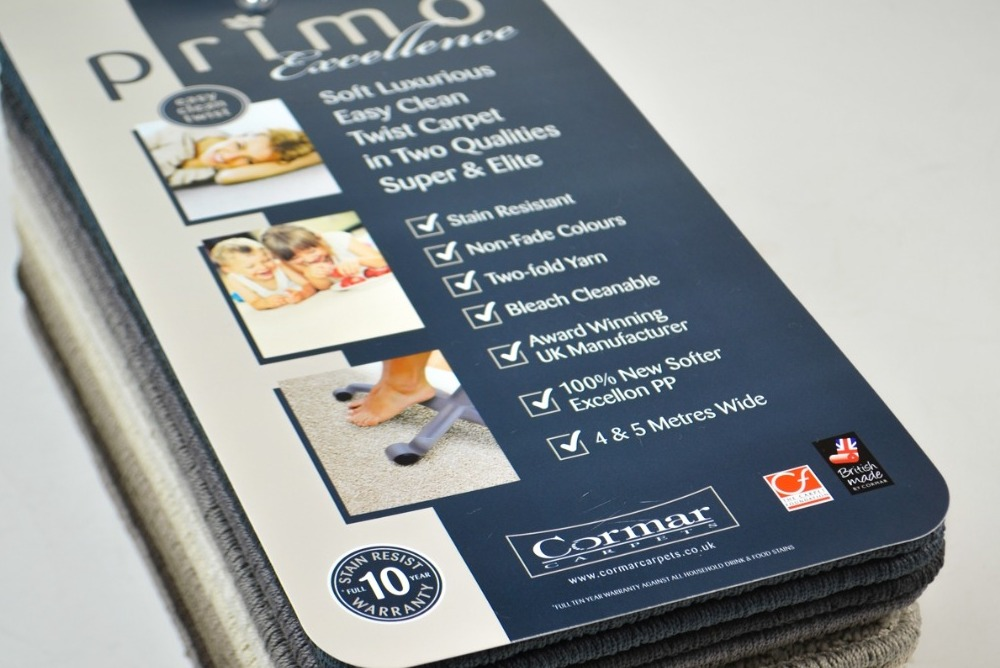 Inspired Floors carpets - Cormar Carpet Range