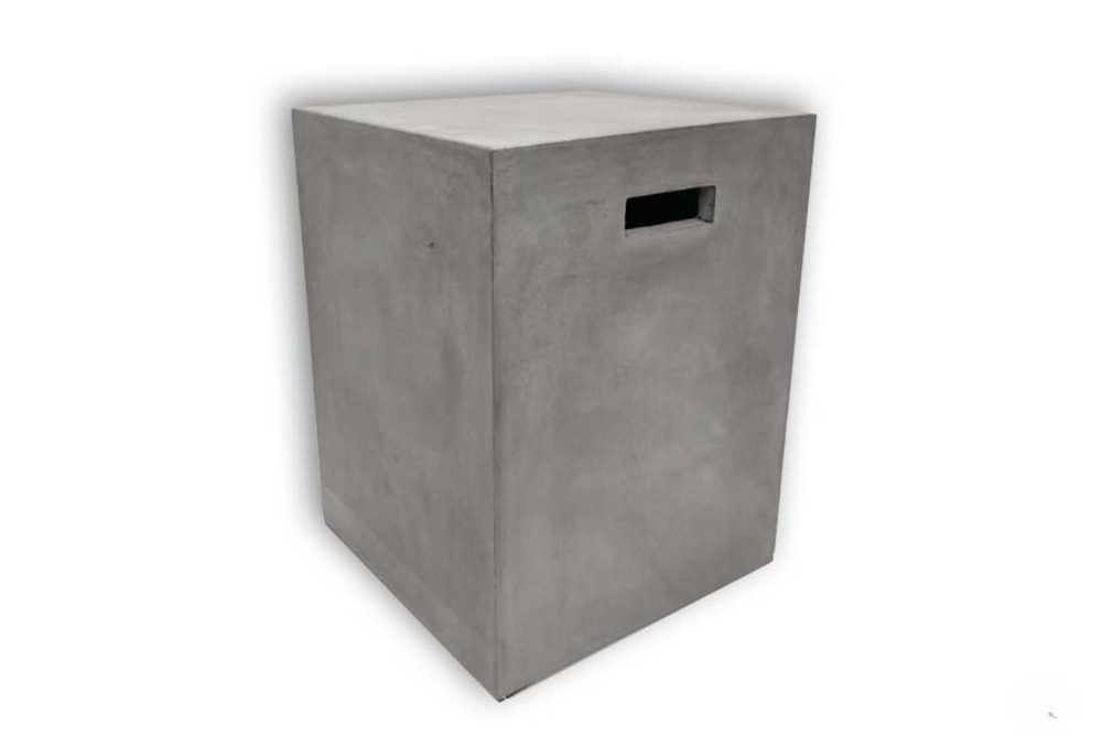 Concrete Box Table