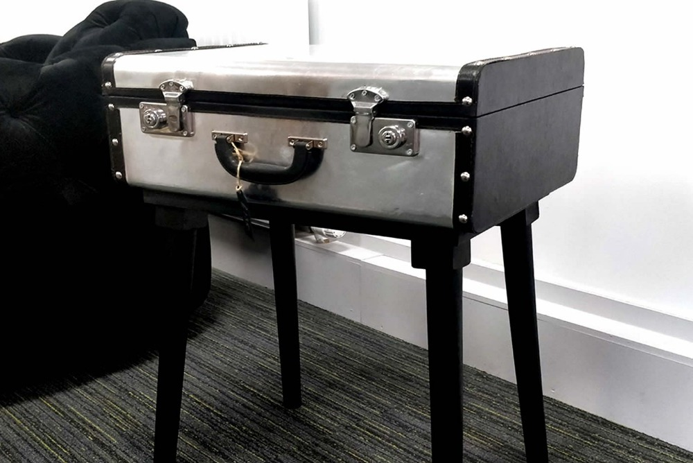 Metal / Leather Case Desk
