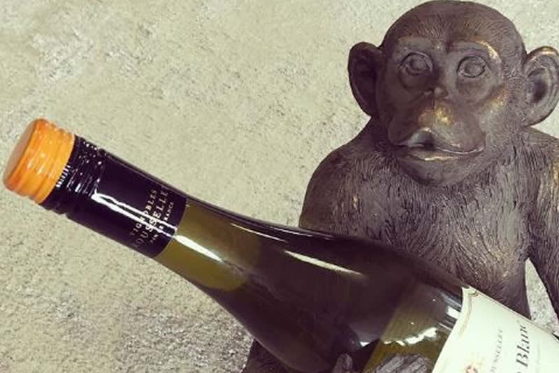 Inspired Floors accessories - Monkey With Wine Bottle