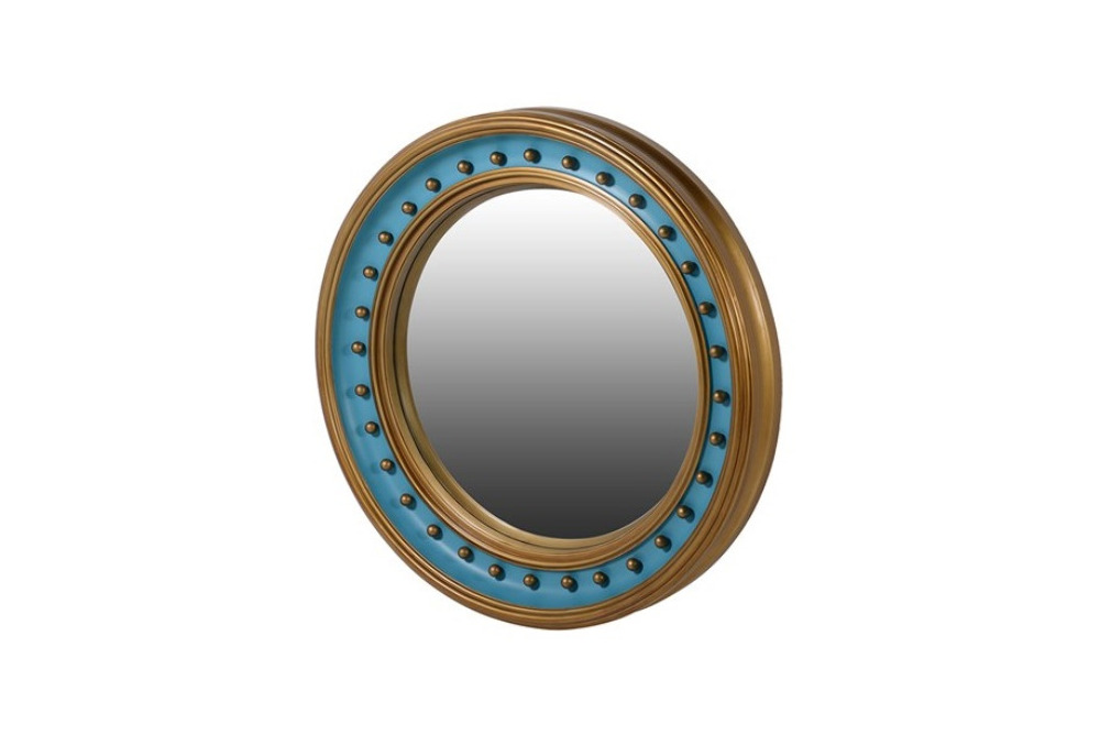 Inspired Floors mirrors - Turquoise Convex Mirror