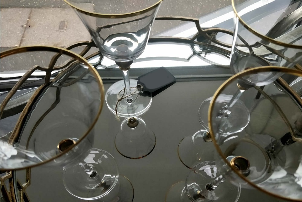 Inspired Floors accessories -  Ornate Wine Glass